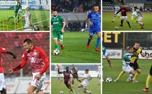 След 12 кръга - 3 отбора в 2 точки на върха в Първа лига