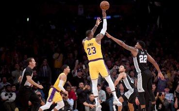 Трета поредна загуба за Леброн и Лейкърс, резултатите в НБА