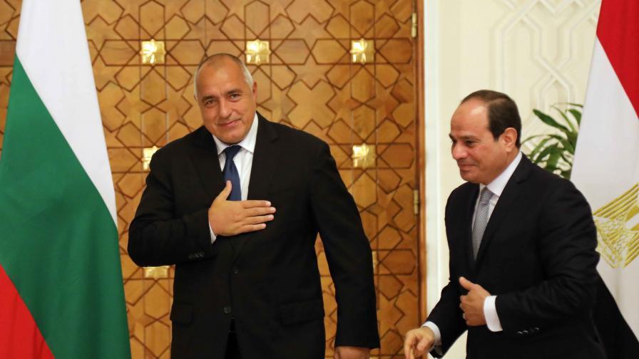 <p>Борисов предложи хранителни хъбове на Египет</p>