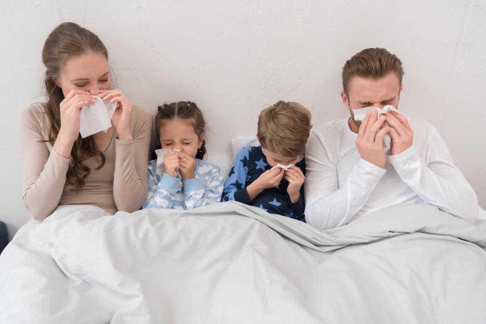 грип настинка