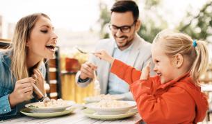 С какво се храни модерното семейство