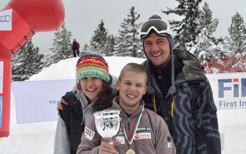 България се раздели с млад шампион в сноубордкроса