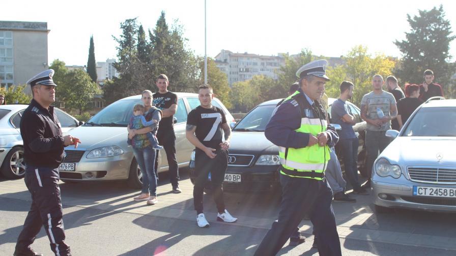 Протести и блокади заради цените на горивата в няколко града