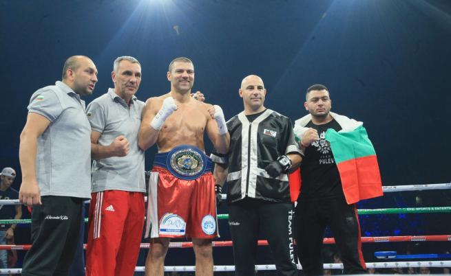 Тервел Пулев е европейски шампион с нокаут