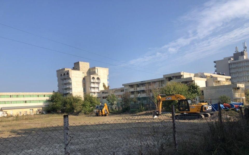 Започна изграждането на нов терен в Кранево