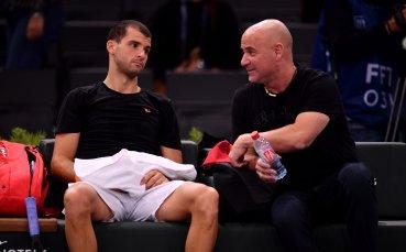 В Румъния: Агаси избрал Гришо пред световната номер 1 в тениса