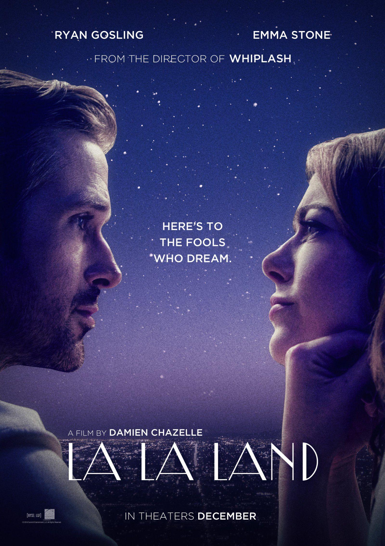 """5. La La Land / """"Ла Ла Ленд"""" – 2016; Режисьор: Деймиън Шазел; Участват: Райън Гослинг, Ема Стоун, Джей Кей Симънс"""