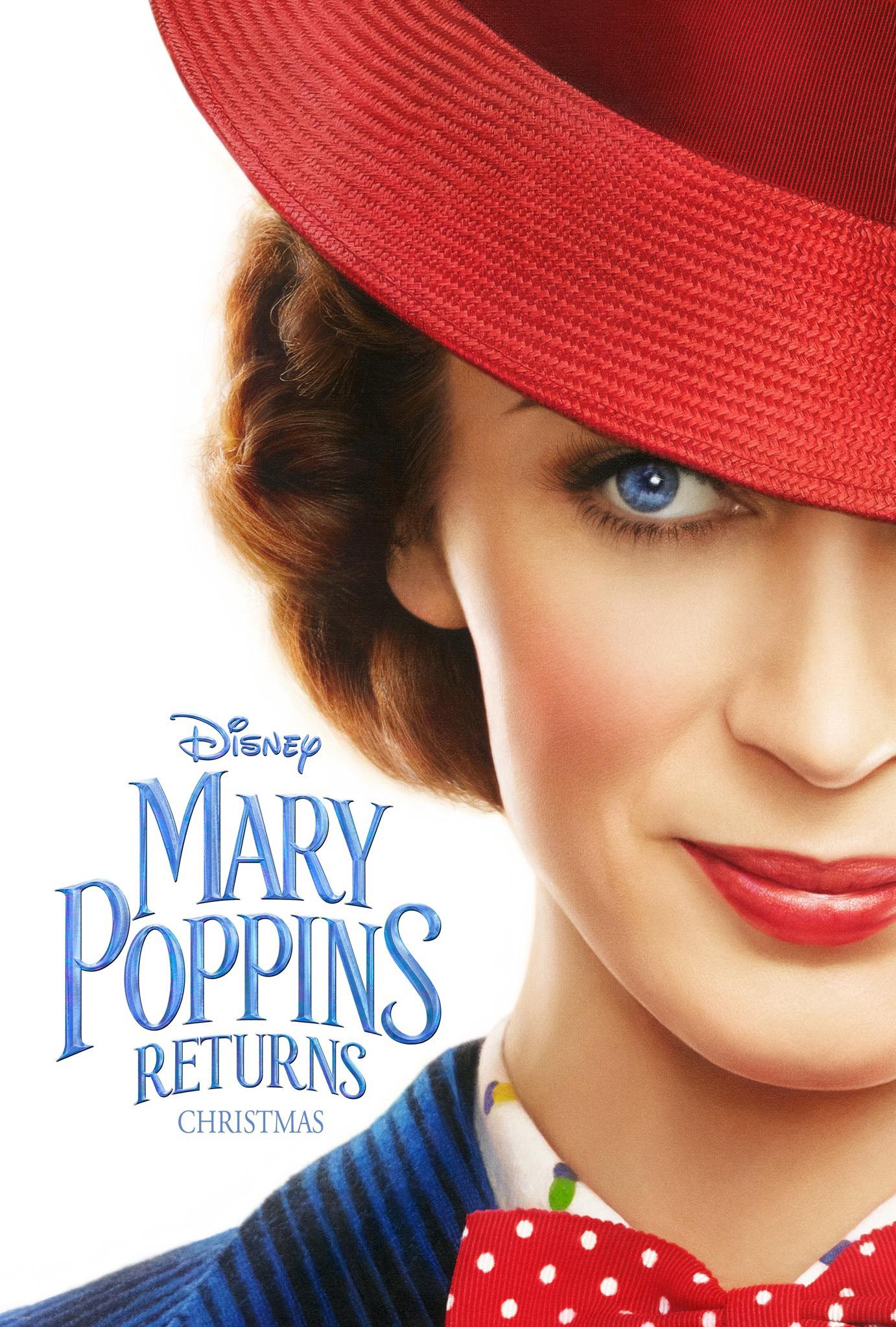 """10. Mary Poppins Returns / """"Мери Попинс се завръща"""" – 2018; Режисьор: Роб Маршал; Участват: Емили Блънт, Мерил Стрийп, Колин Фърт"""