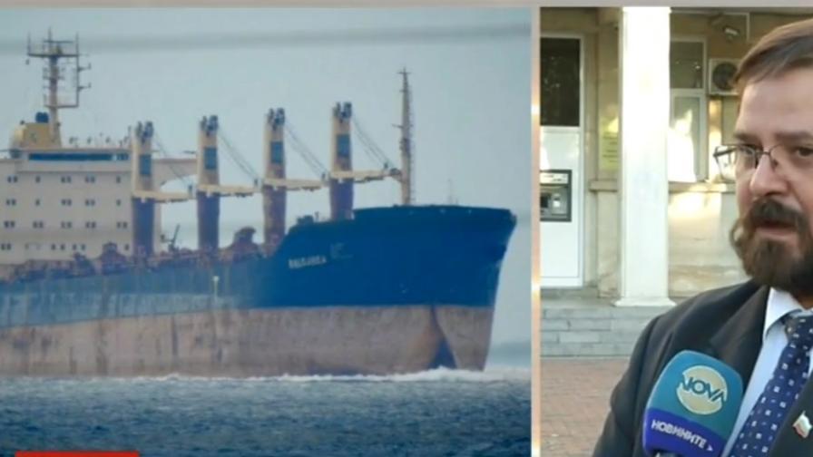 """Моряк от кораб """"Българка"""" загина, друг е ранен"""