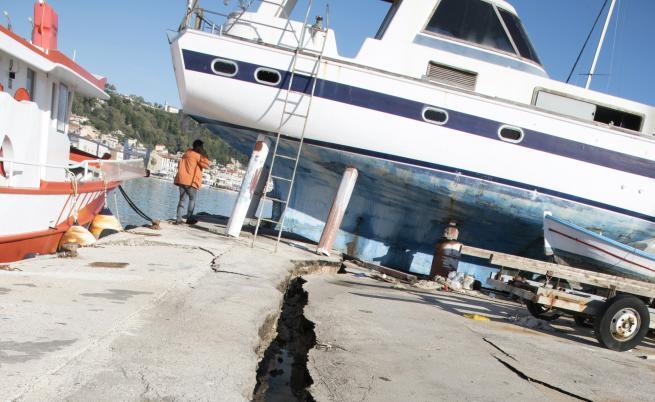 Земетресението в Гърция премести остров Закинтос