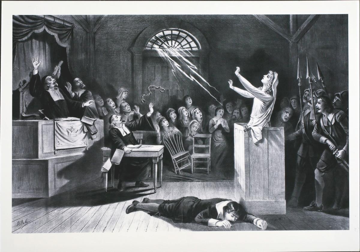 Алис Кайтелър<br /> През 1324 година Алис става първата жена в историята на Ирландия, обвинена във вещерство.<br /> От нея се оплакват децата на съпруга й, тъй като той страда от странна болест и те смятат, че тя, тъй като е втората му съпруга, се опитва да го убие чрез магия. След това решават да кажат, че е убивала животни в името на Дявола и това, разбира се е напълно достатъчно, за да получи смъртна присъда.<br /> Това, което обаче е интересно е, че вечерта преди екзекуцията, Алис изчезва безследно и никой повече не я вижда.