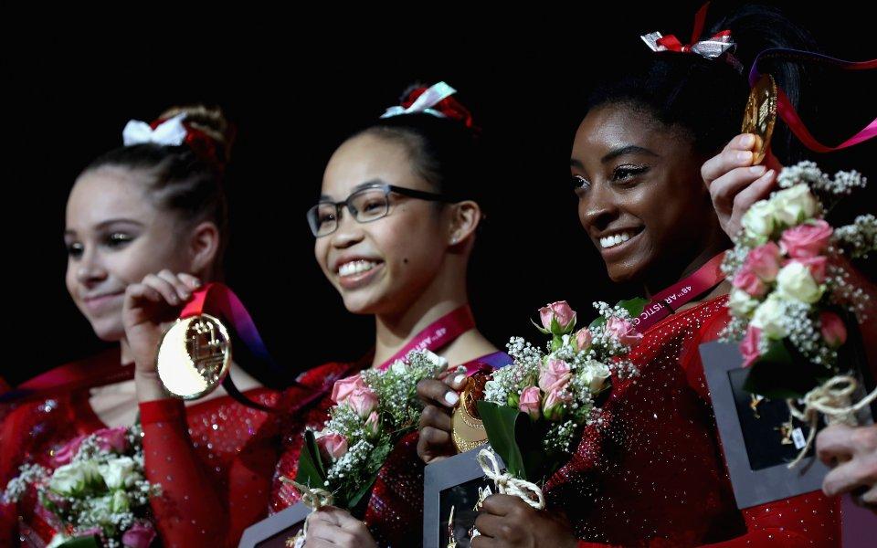 Американките защитиха световната си титла в спортната гимнастика