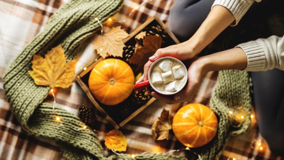 жена есен уют сутрин закуска
