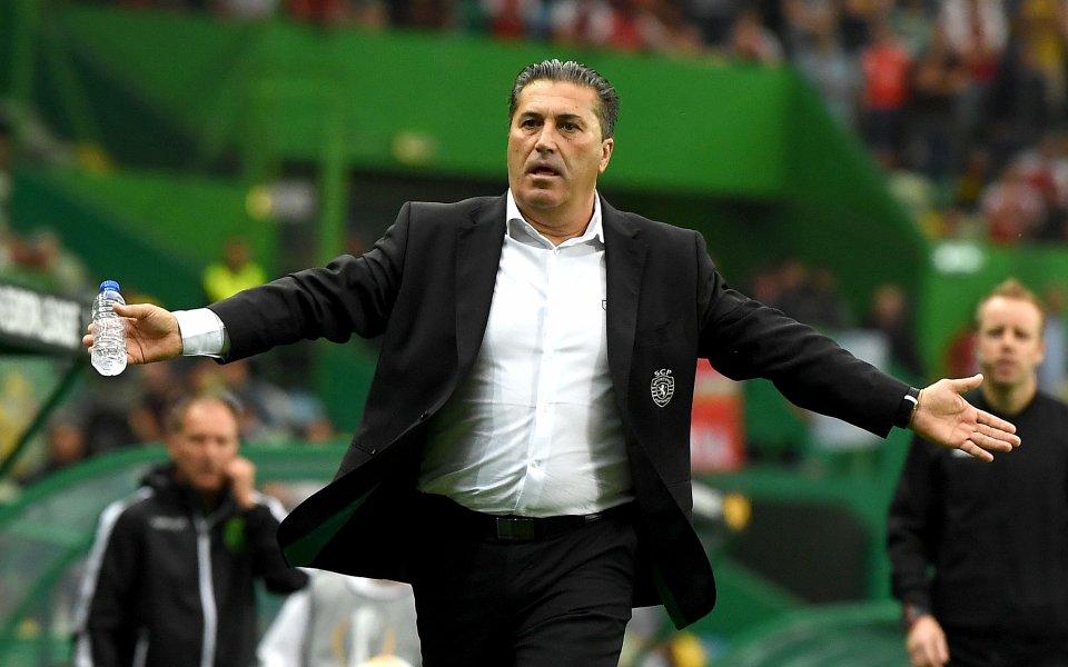 Спортинг Лисабон уволни треньора си след загубата от Ещорил