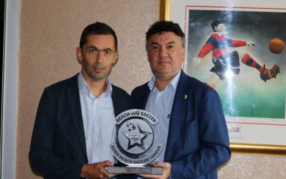 Селекционерът на България в Дубай за Междуконтиненталната купа по плажен футбол