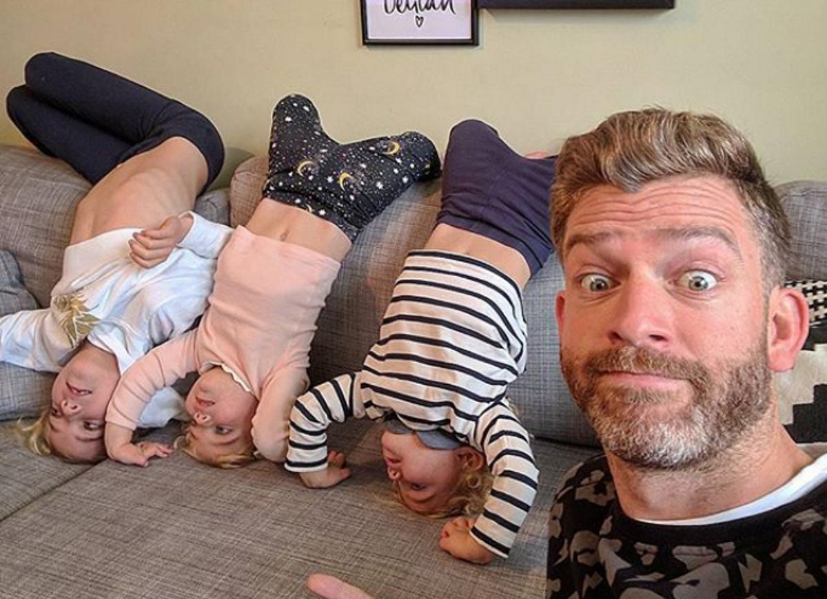 Саймън Хупър е баща на 4 дъщери. Той решава да документира живота си с неговите момичета и... успява да го превърне в бранд.
