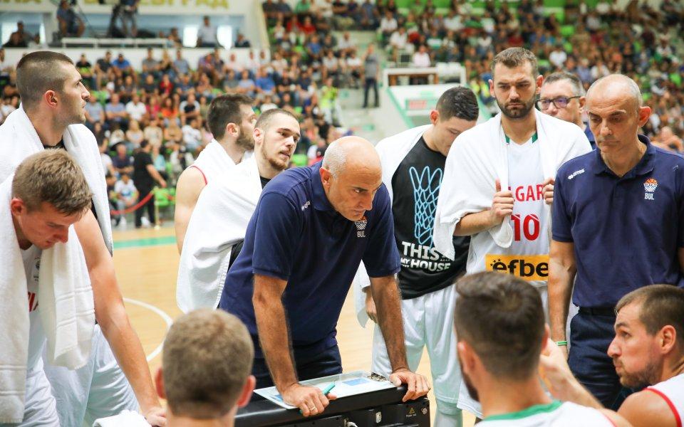 Любо Минчев повика 14 баскетболисти за мачовете с Босна и Франция