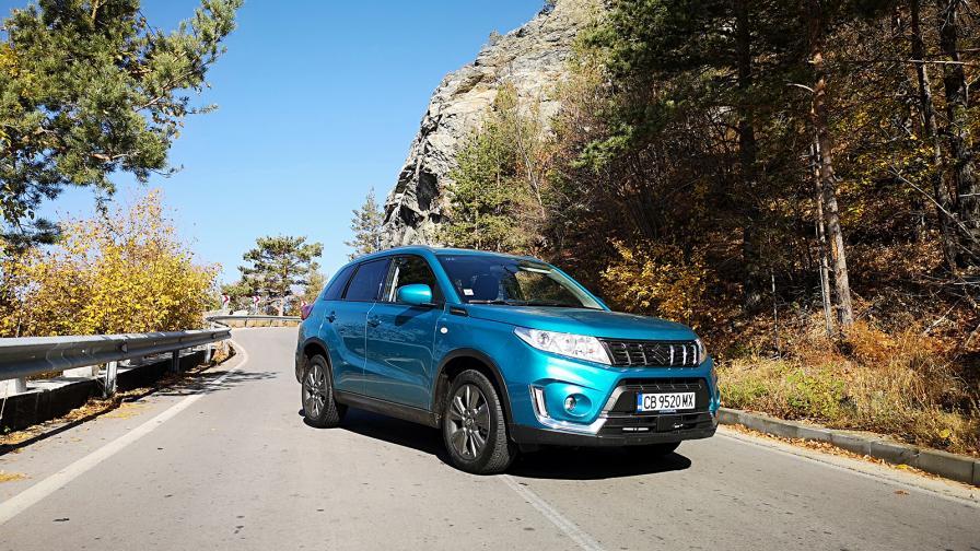 Suzuki Vitara: бензинова динамика с дизелова икономия (тест драйв)
