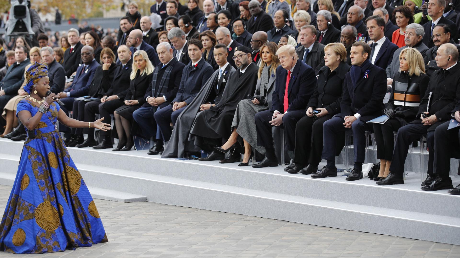 Световният политически елит се събра в Париж