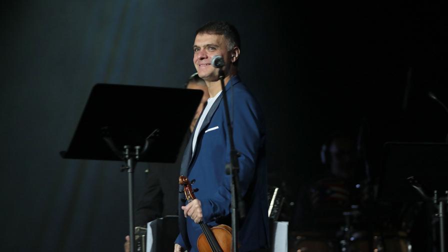 Концерт на Васко Василев в НДК