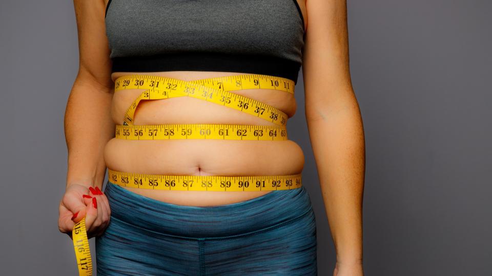 мазнини диета корем