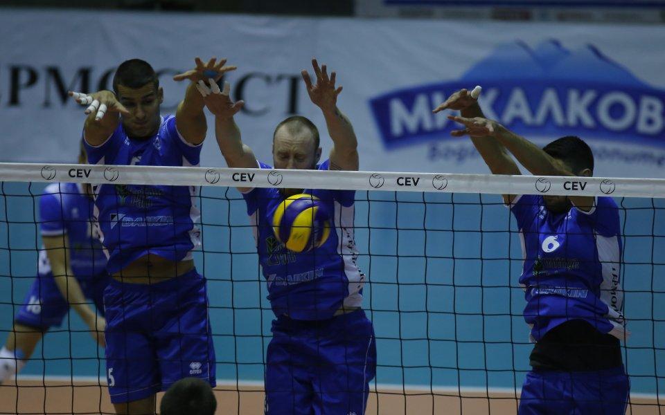 Още един волейболист на Левски се контузи