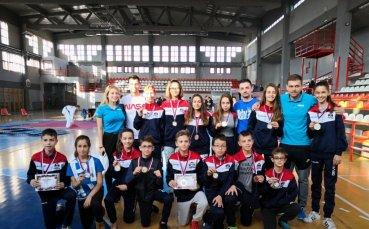 Достойно представяне на българските таекуондисти в Европа