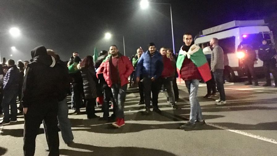 """Протестът на магистрала """"Люлин"""""""