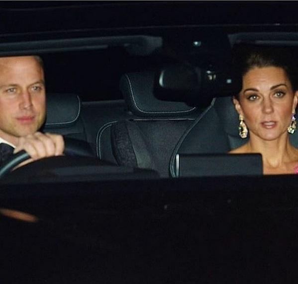 Принц Уилям и съпругата му Катрин