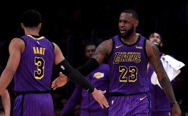 ЛеБрон вече в топ 5 по резултатност в историята на НБА