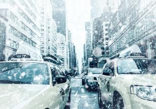 Сняг затрупа Ню Йорк