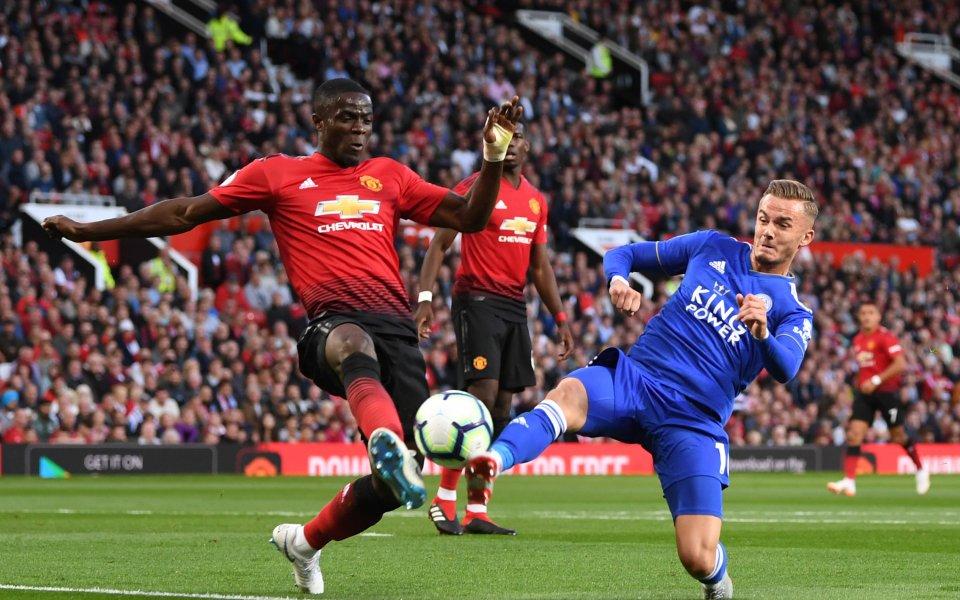 Защитникът на Манчестър Юнайтед Ерик Баи ще пропусне първата половина