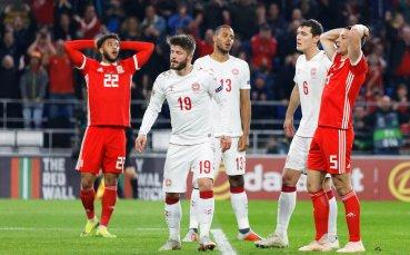 Дания спечели промоция за елита в Лигата  на нациите