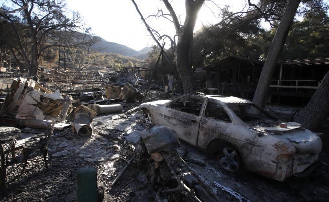 Над 1000 в неизвестност и 71 загинали при пожара в Калифорния