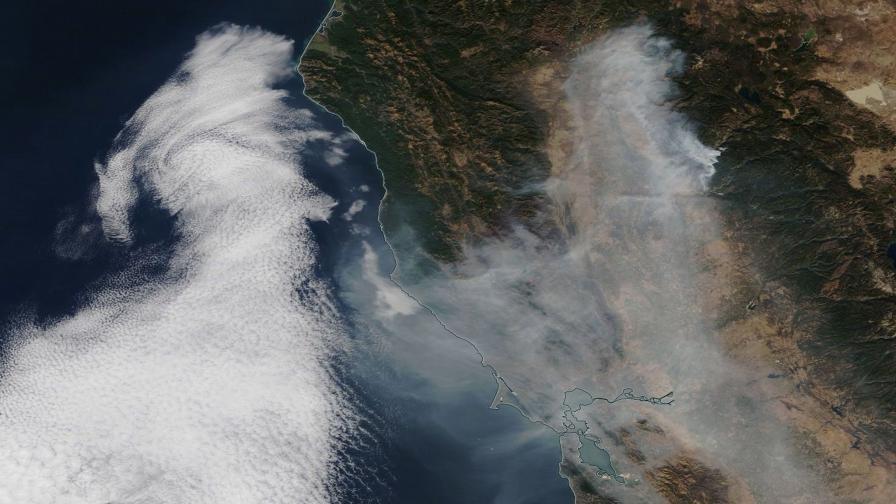 Увеличиха се жертвите и изчезналите след пожарите в Калифорния