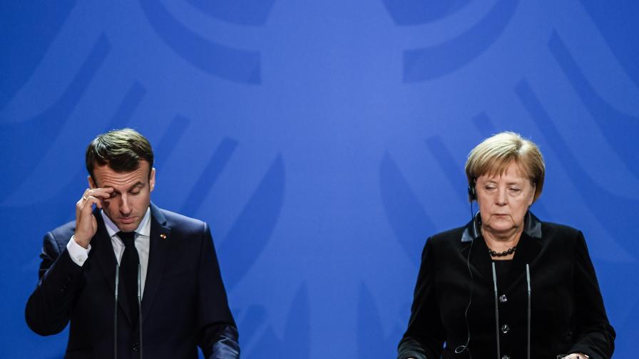 <p>Макрон: Силна Европа, за да опази света от хаоса</p>