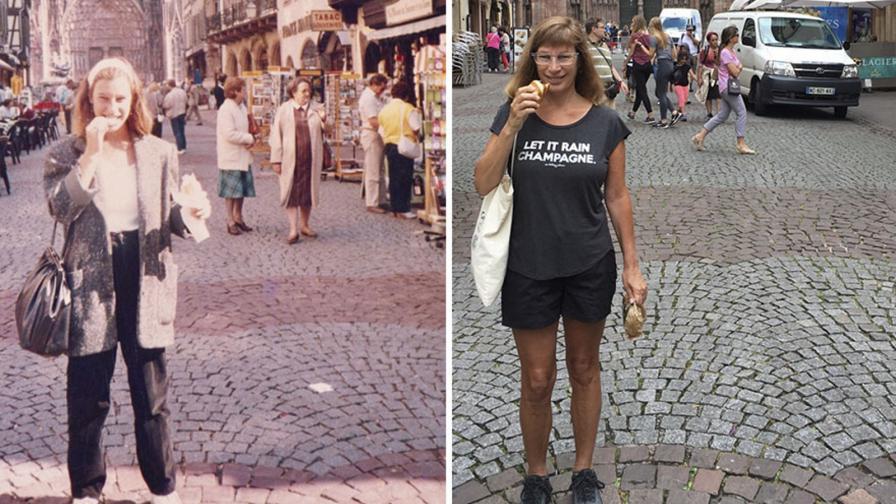 Как се промени тази жена за 30 години - ПРЕДИ и СЛЕД