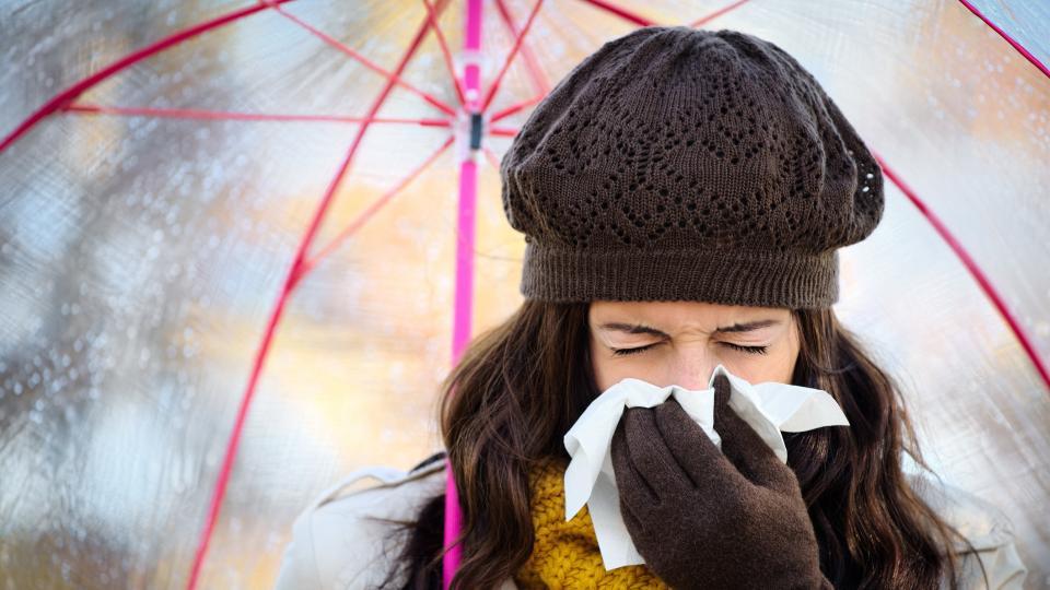 нос грип жена симптоми
