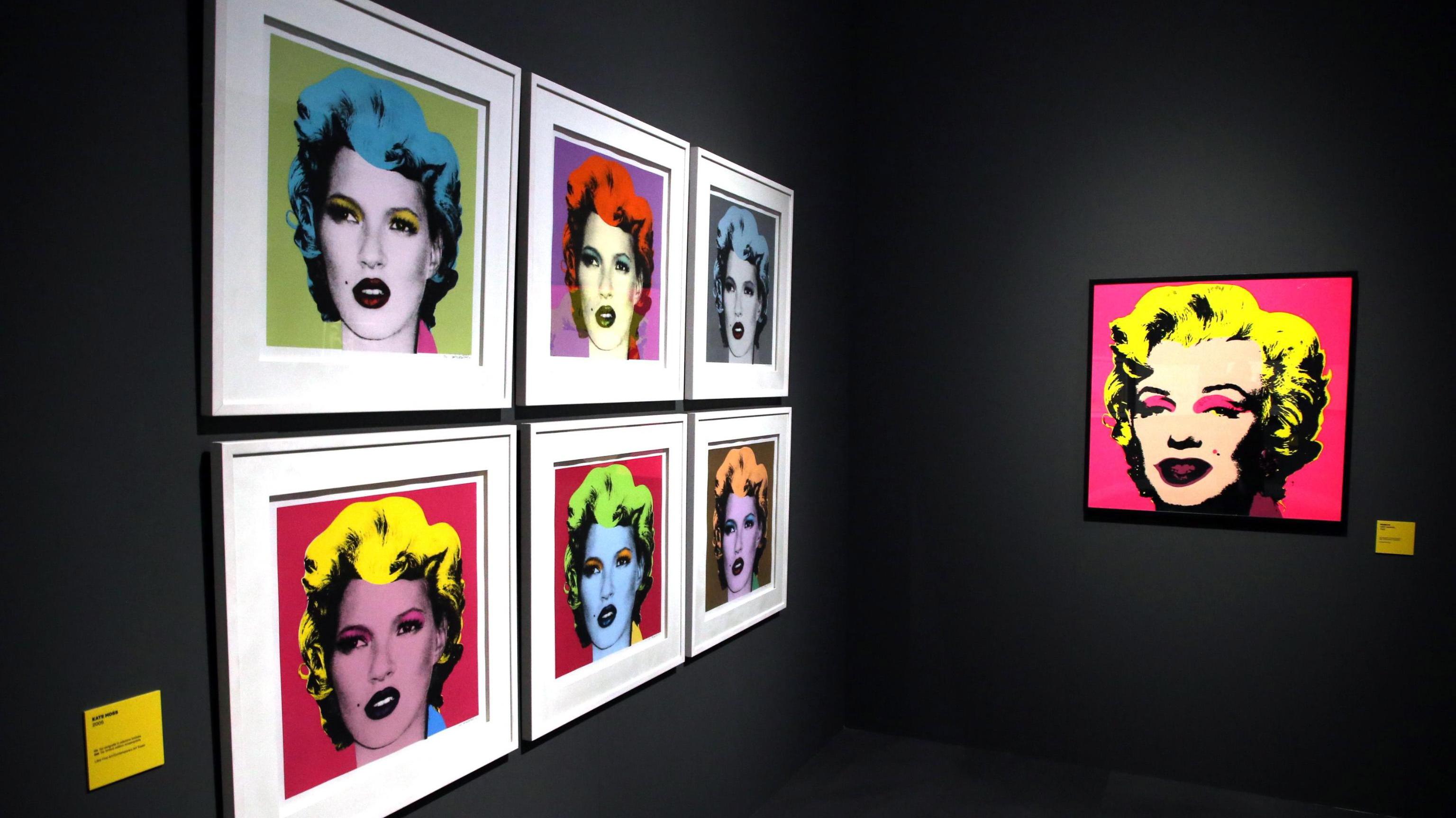 """Изложбата """"Визуален протест, изкуството на Banksy"""" в музей """"Мудек"""", Милано, Италия, от 21 ноември до 14 април 2019 г."""