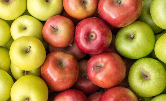 Каква е разликата между червената, зелената и жълтата ябълка