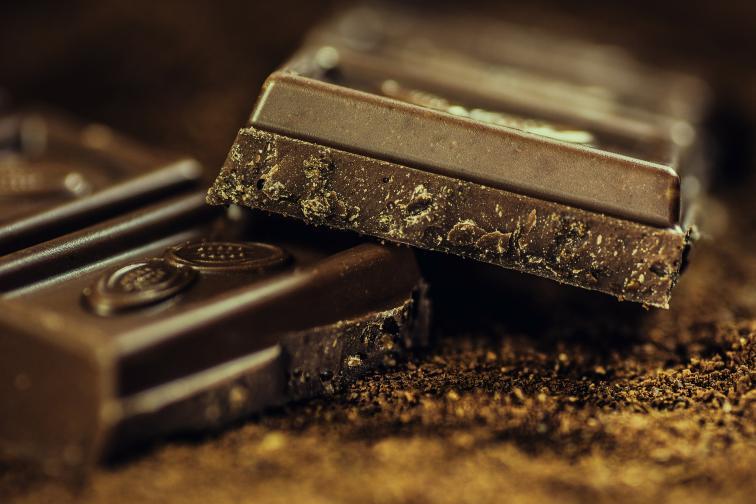 шоколад сърце полезен