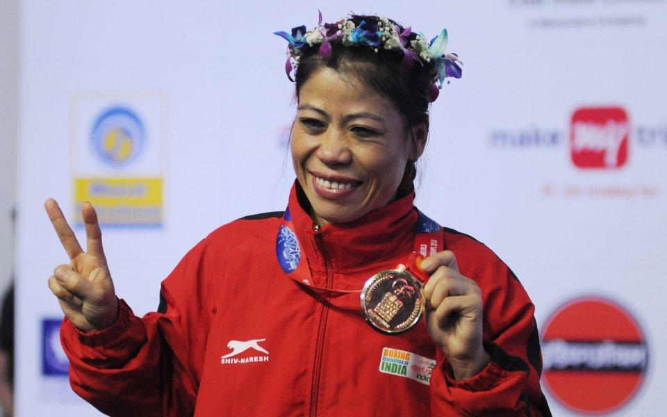 Индийка спечели рекордна шеста световна титла по бокс
