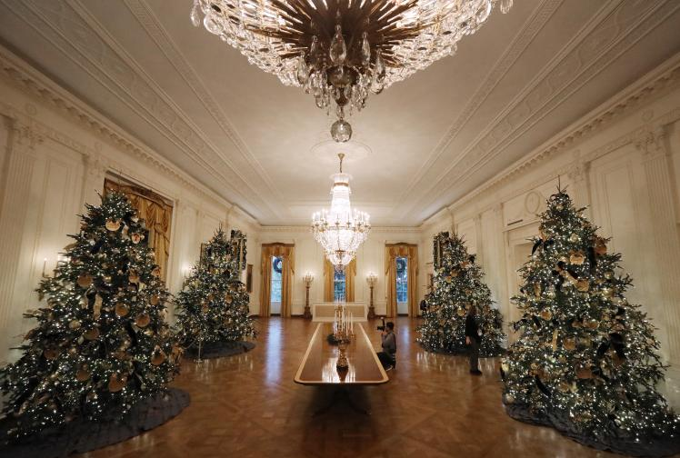Белият дом Коледа