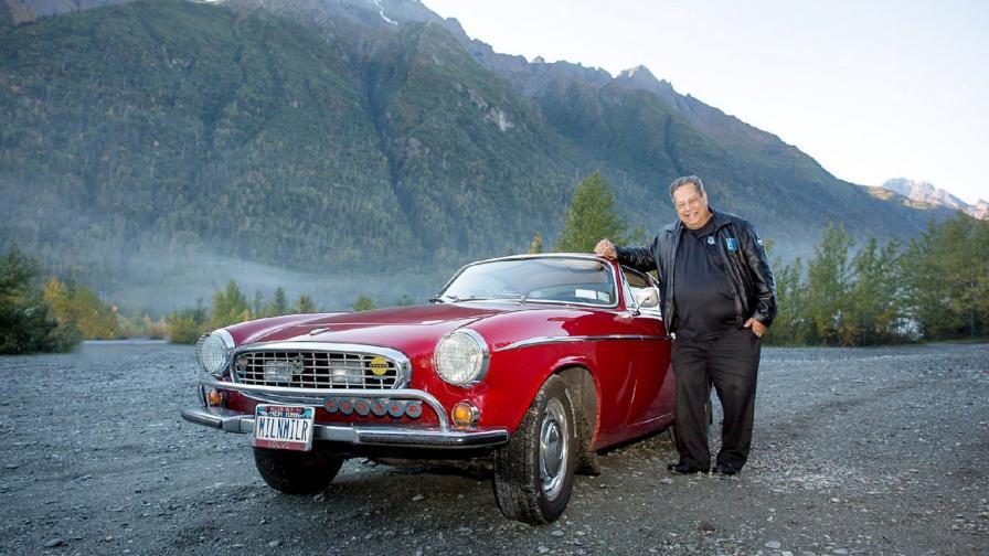 Ърв Гордън и неговото Volvo P-1800S