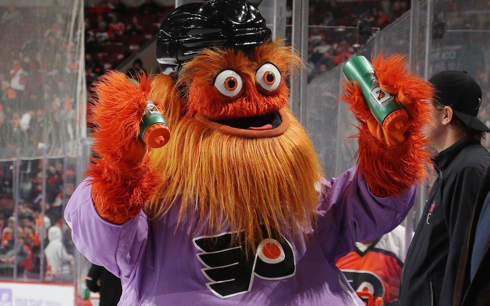 Талисманът на Филаделфия - любимец на феновете в НХЛ