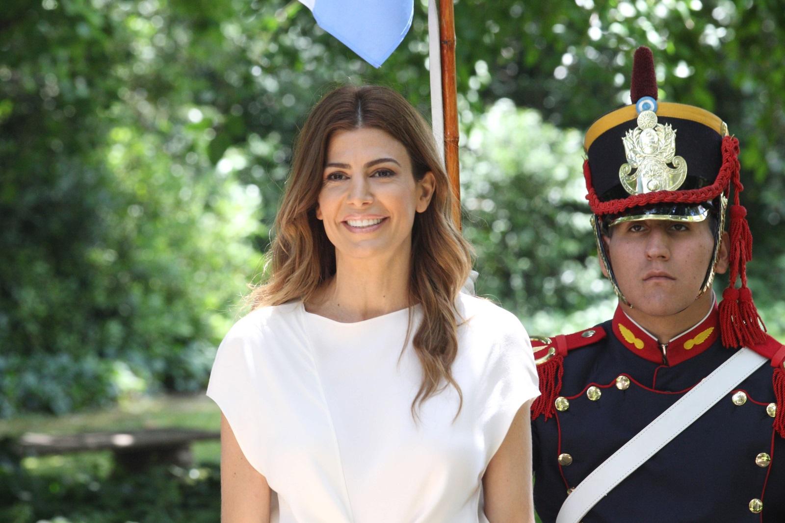 Хулиана Авада,съпругата на аржентинския президент