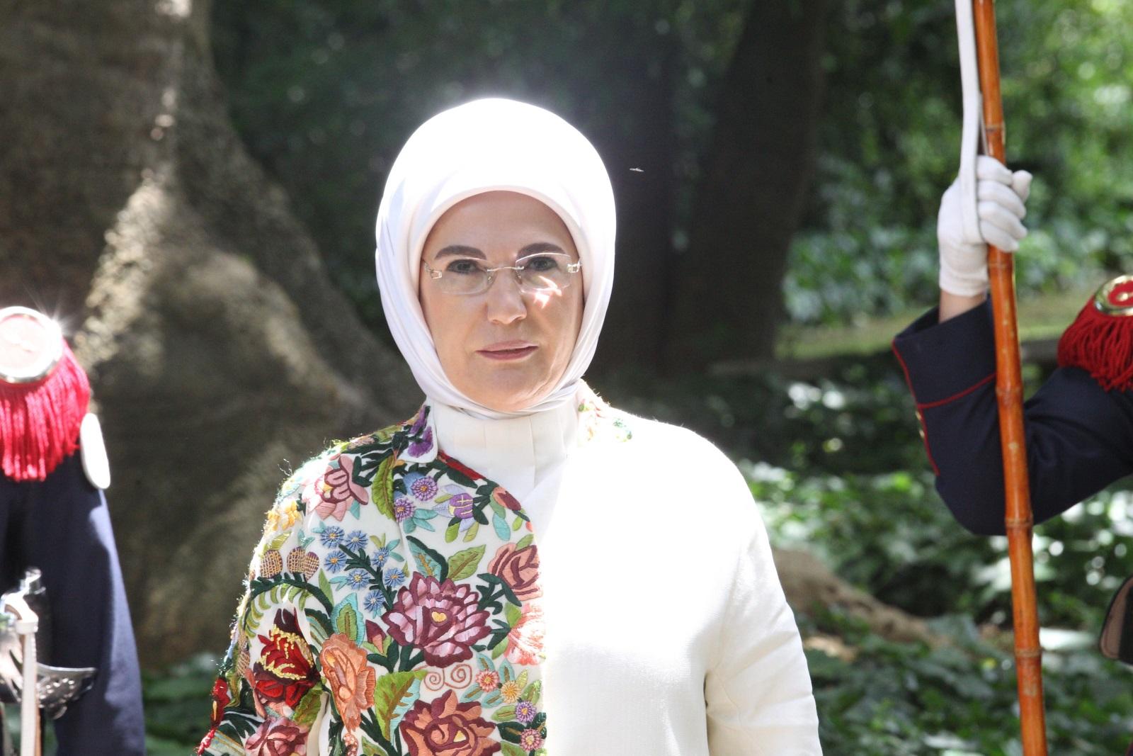 Емине Ердоган, съпругата на турския президент