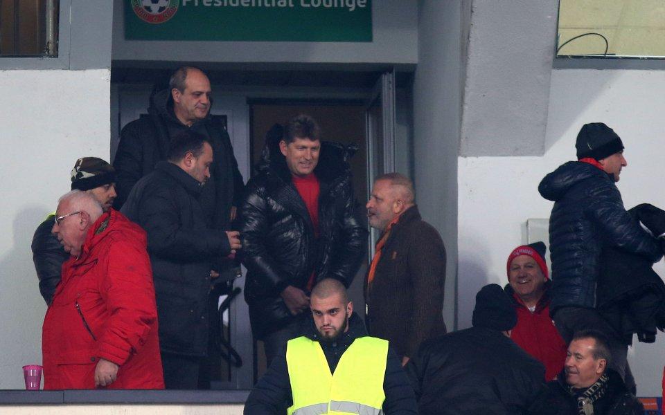 Сблъсъкът между Славия и ЦСКА в снимки