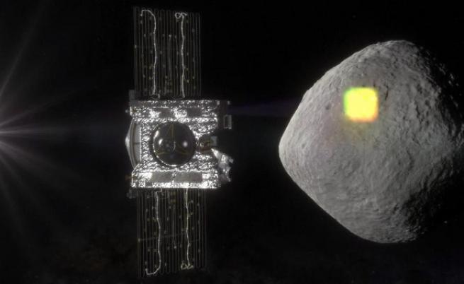 Сонда на НАСА влезе в орбита около астероид