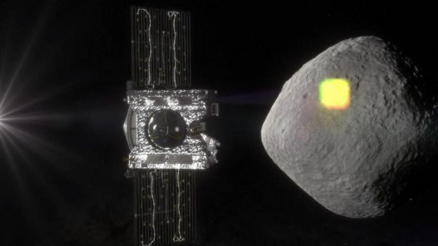 Osiris-Rex и астероида Bennu